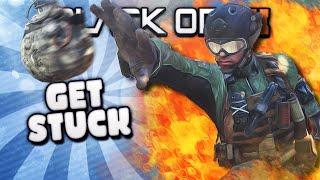 Black Ops 2 GET STUCK 3!! (Funny Kills, Crazy Nade Trickshots, & Bad Players) Funtage - Duration: 4:08.