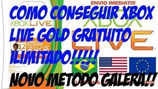 Como Conseguir Códigos De XBOX LIVE GOLD DE GRAÇA E