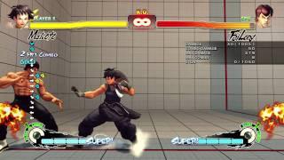 SSF4 AE - Makoto Dash Punch ( Hayate ) Tip from Haitani's Twitter view on youtube.com tube online.