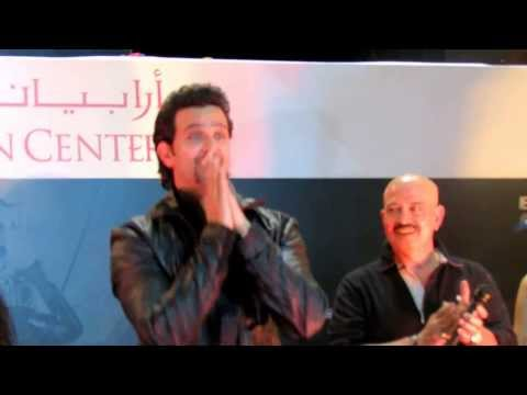 Hrithik Roshan in Dubai, arabian centre, krrish 3