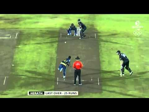 Stunning last over hands Black Caps victory