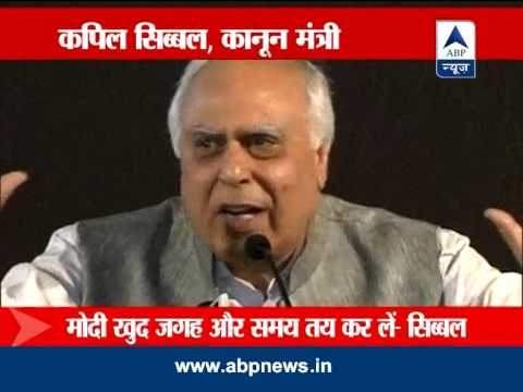 Kapil Sibal challenges Modi to debate
