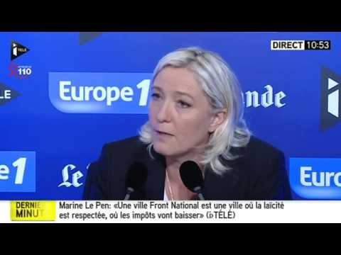 Le grand rendez vous avec Marine Le Pen 060414