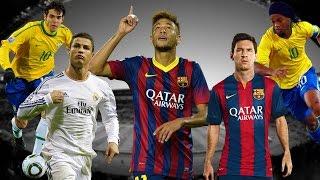 Cristiano Ronaldo Vs Messi Vs Neymar Vs Ronaldinho Vs Kaka