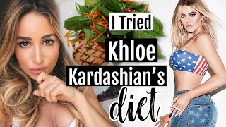 I Ate like Khloe Kardashian for a day! This is what happened