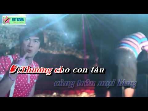 [Karaoke] Tàu Về Quê Hương Remix - Hồ Việt Trung Ft. Thụy Anh (full beat)