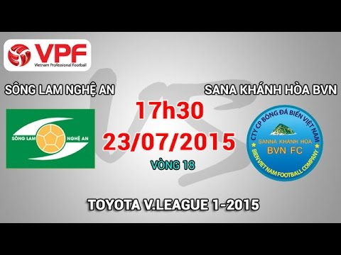 SLNA vs Sanna Khánh Hòa BVN - V18 V.League 2015 | FULL