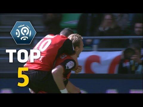 Ligue 1 - Week 31 : Top goals - 2013/2014