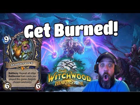 (Hearthstone) Witchwood Decks! Shudderwock gets burned and Shaman Deck summons 3