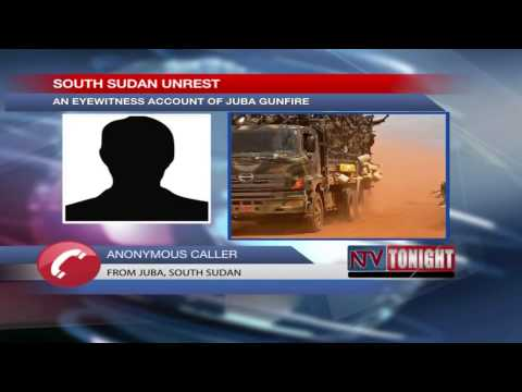 Salva Kiir alleges coup, declares duk to dawn curfew