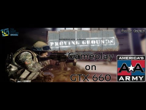 America's Army: Proving Grounds (Beta) - Gameplay on GTX 660