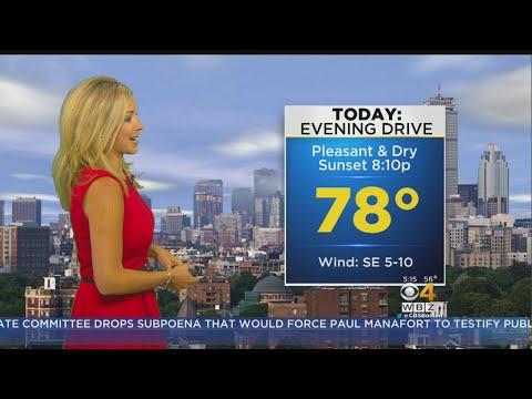 WBZ Morning Forecast For July 26