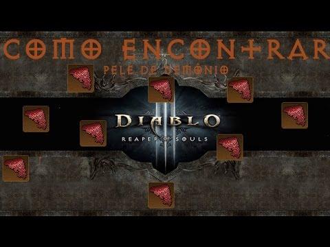 Diablo 3 -  RoS -  Como farmar *Pele do Demônio* MODO TURBO