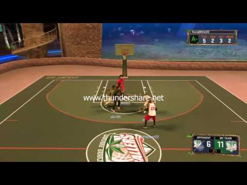 NBA2k17 Mypark Gameplay Lil Some