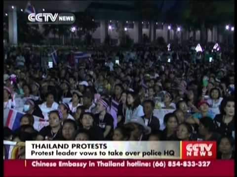 Thailand Protests: Protest leader vows to take over police HQ