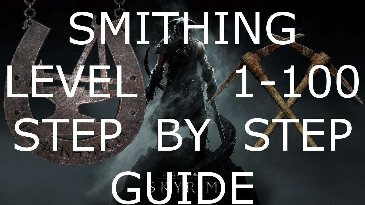 Skyrim - 100 Smithing AFTER PATCH! Fastest Easiest way