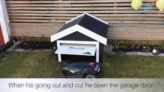mower garage f r m hroboter vea mas videos de creusent. Black Bedroom Furniture Sets. Home Design Ideas