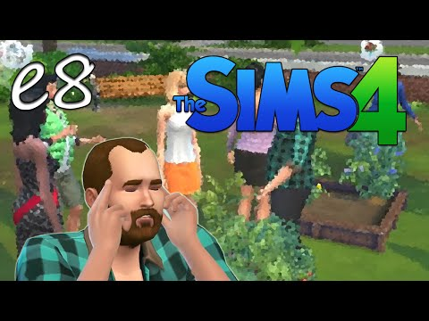 Sims 4 - An Idiot's Playthrough: I need friends (E8)