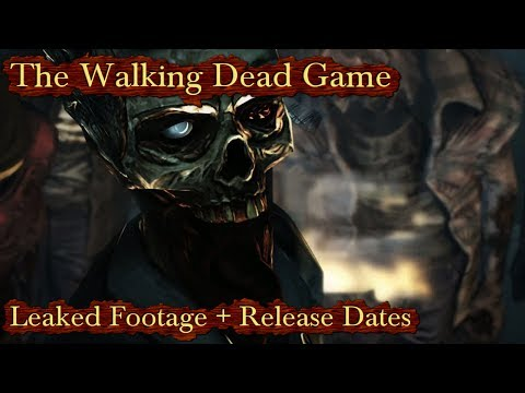 The Walking Dead Game Season 2 Leaked Footage & All Release Dates