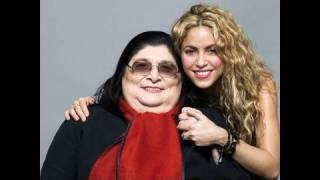 "Mercedes Sosa Y Shakira Graban ""La Maza""."