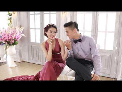 Ngọc Huy Studio hậu trường chụp ảnh cưới tại Phim trường