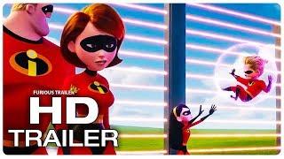 INCREDIBLES 2 Violet Vs Dash Fight Scene Trailer (NEW 2018) Superhero Movie HD