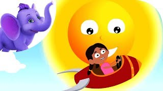 Sally Go Round The Sun - Nursery Rhyme with Karaoke