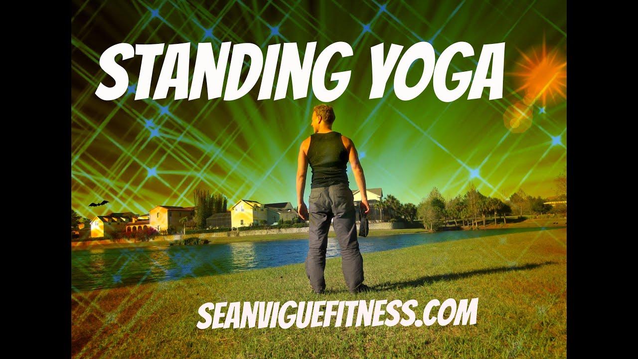 15 Min Yoga Class Standing Yoga For Beginners Sean