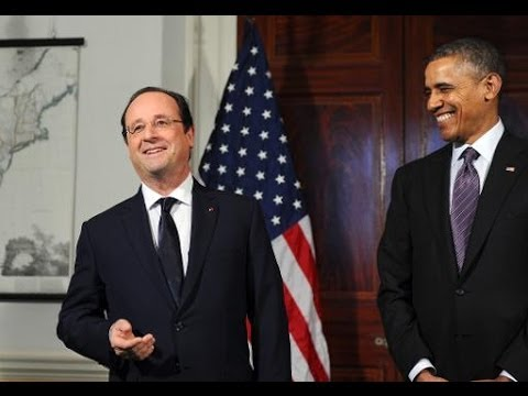 Obama Welcomes France's Hollande At Thomas Jefferson's Monticello