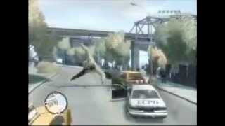 Grand Theft Auto 4 Unbelievable Crashes/Falls Episode 1