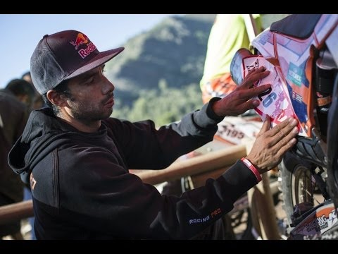 Mexico's national enduro champion: Homero Díaz