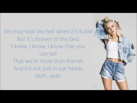 youtube video Zara Larsson ~ Don t Let Me Be Yours ~ Lyrics to 3GP conversion