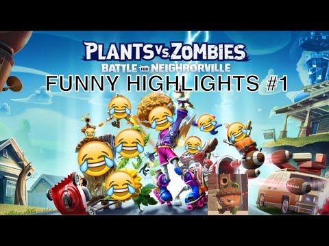 Plants Vs Zombies: Battle For Neighborville | Funny Highlights #1