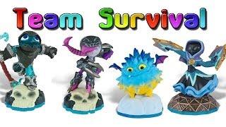 Skylanders Swap Force: Team Survival (Arena Modes) Part