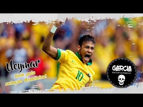 Neymar - Gols pela seleção Brasileira (Trilha sonora: País do Futebol - MC Guime)