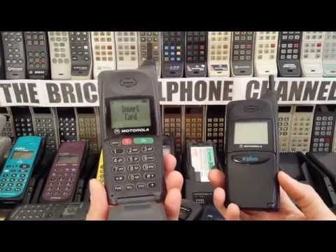 Motorola Microtac Select 2000e, 3000e and 6000e GSM1900 brick phones