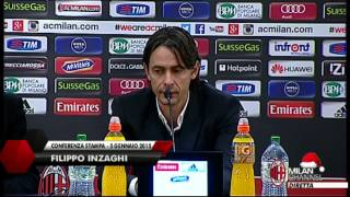 "Inzaghi: ""Cerci era una priorità di mercato""   AC Milan Official"