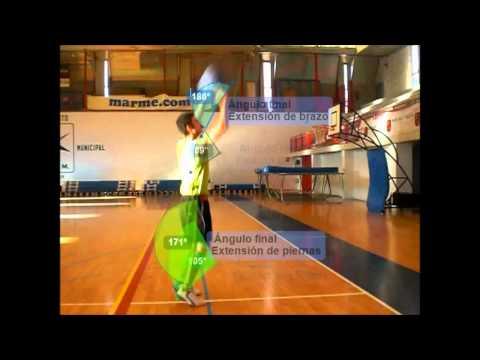 Análisis biomecánico del tiro libre en baloncesto CAFD San Javier