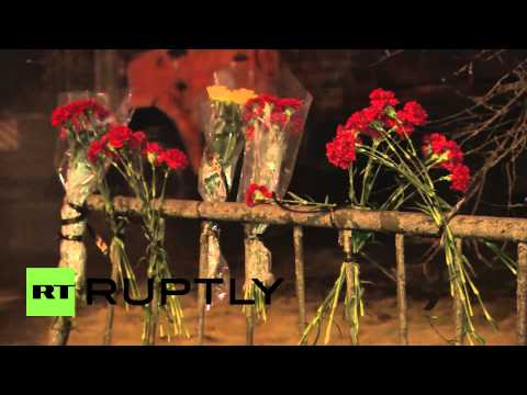 Russia: Mourners lay flowers at Volgograd's bombing sites