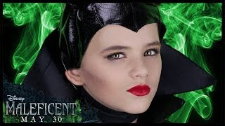 Disney's Maleficent Makeup Tutorial! Angelina Jolie
