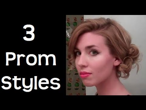 3 Easy Wedding / Prom Hairstyles 2011 - hairstyles for long hair & hairstyles for medium hair