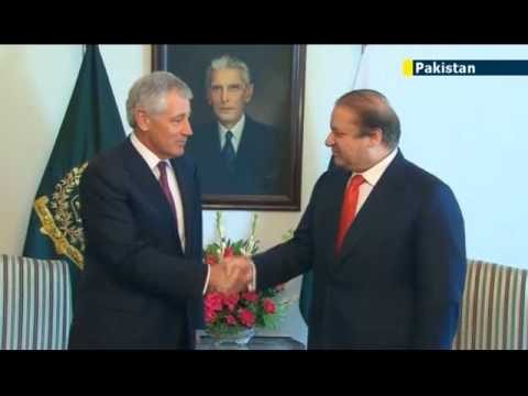 US Defense Secretary meets Pakistan PM