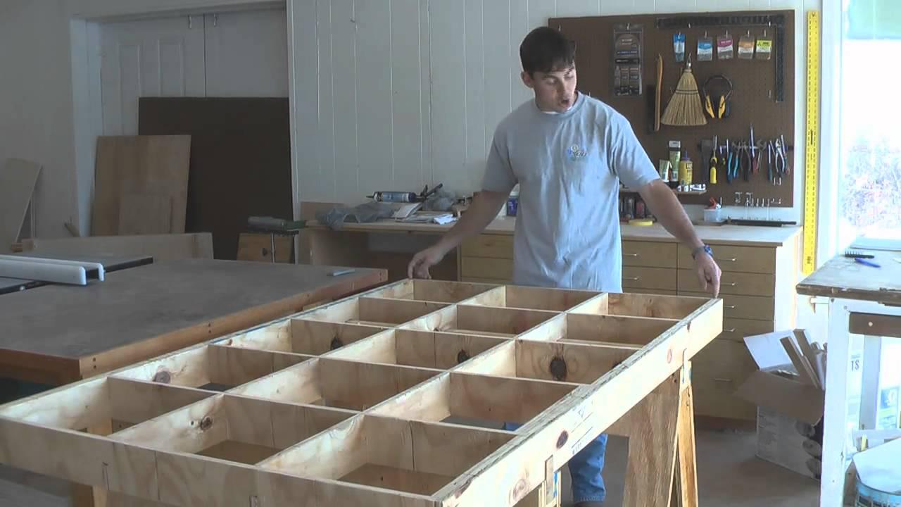 Trip S Diy Plywood Cutting Table Youtube