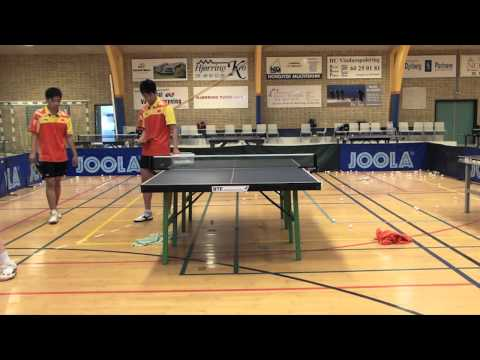 Table Tennis -- Chinese Footwork Part 4 -- Small Steps