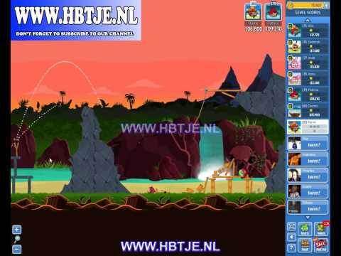 Angry Birds Friends Tournament Level 2 Week 105 (tournament 2) no power-ups