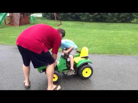 Jon's super fast tractor