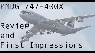 FSX - PMDG 747-400 Review and First Impression view on youtube.com tube online.