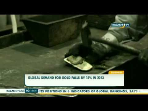 Global demand for gold falls by 15% in 2013
