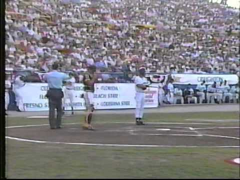 1991 College World Series Highlights