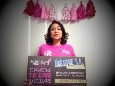 #9 LIZ - BIG GIVE SA AND KOMEN SAN ANTONIO